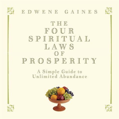 [pdf] The Four Spiritual Laws Of Prosperity A Simple Guide To .