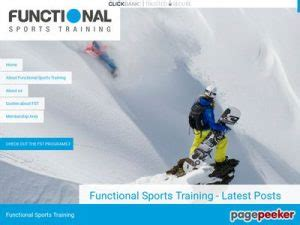 [pdf] The Functional Sports Training Specific Program For Ski .