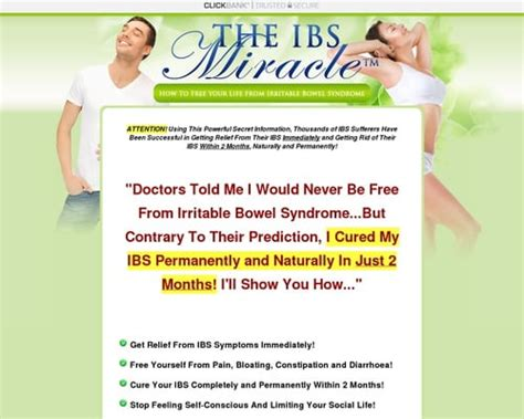 The Ibs Miracle (tm) With Free 3 Months Consultations - Youtube.