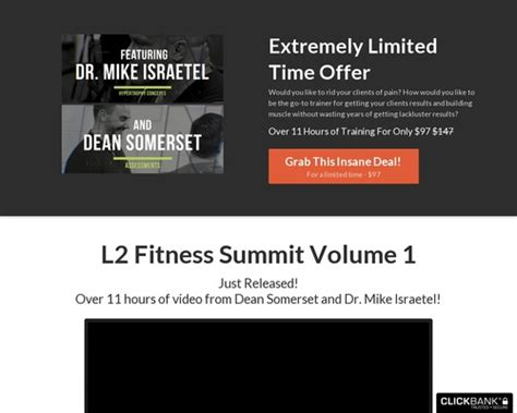 The L2 Fitness Summit Volume 1 [honest Review] Best Coupon.