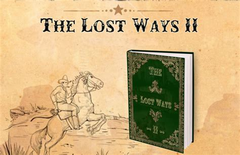 The Lost Ways 2 Book - Brand New [2018] + 2 Free Bonuses!.
