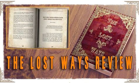The Lost Ways Review - The Secrets Behind The Book Preppers Will.