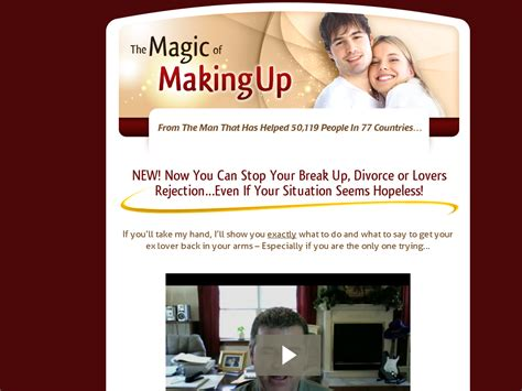 [click]the Magic Of Making Up - Get Your Ex Back Will Survey.