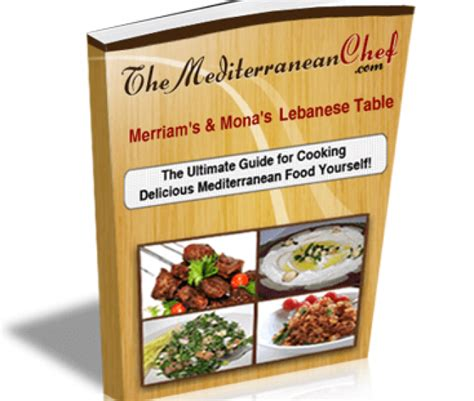 @ The Mediterranean Chef   Merriam And Monas Lebanese Table .