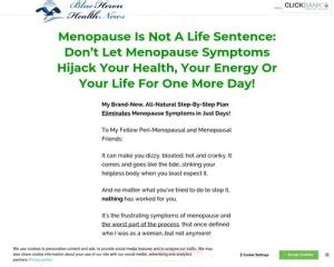 [click]the Menopause Answer - Blue Heron Well Being Information .