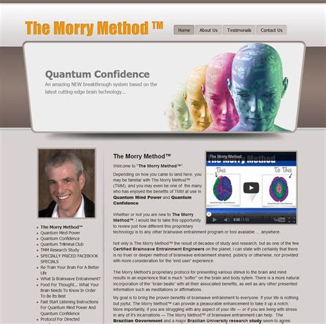 @ The Morry Method   The Morry Method   Cutting Edge .
