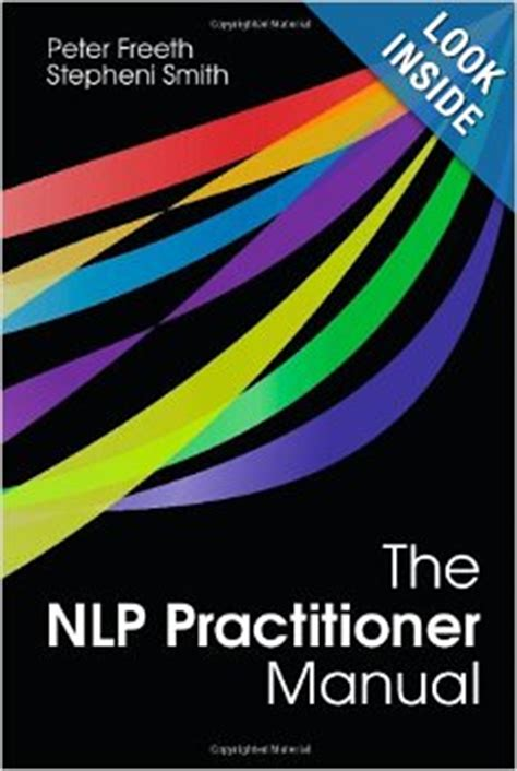 [pdf] The Nlp Practitioner Manual By Peter Freeth.