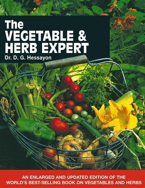 [click]the New Vegetable Herb Expert D G Hessayon .