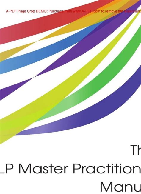 [pdf] The Nlp Master Practitioner Manual - Akokomusic.