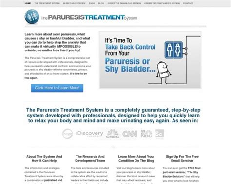 @ The Paruresis Treatment System   Resources And Help For .