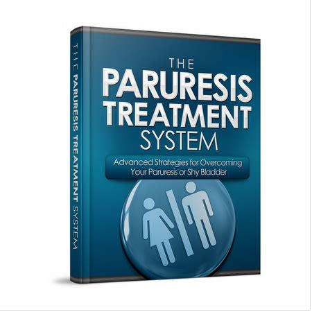 The Paruresis Treatment System (ebook) - Elibrary.