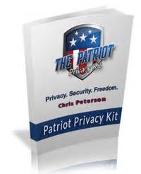 The Patriot Privacy Kit: 1 Best Selling Survival Privacy Product!.