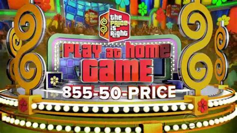 [click]the Price Is Right Play At Home Game Official Rules - Cbs.