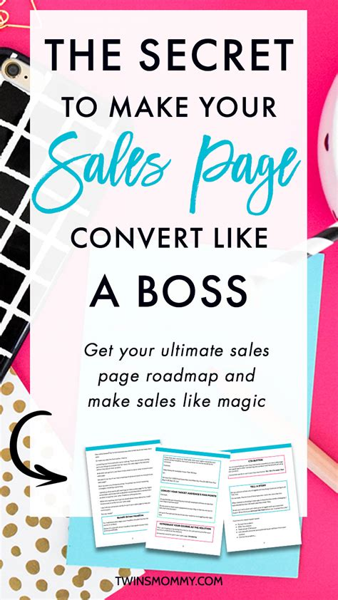 @ The Secret To Making Your Sales Page Convert Like A Boss .