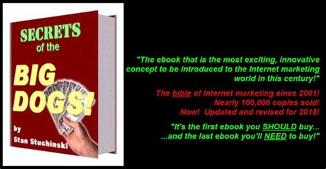 The Secrets Of The Big Dogs A Scam? Reviews - Scamxposer.