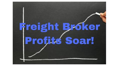 @ The Shipping Rush Pushes Freight Broker Profits Forward .