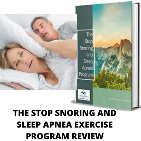 @ The Stop Snoring And Sleep Apnea Exercise Program - Phupv Com.