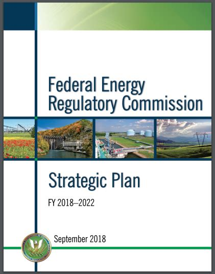 The Strategic Plan - Federal Energy Regulatory Commission.