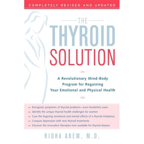 The Thyroid Solution: A Revolutionary Mind-Body Program For.