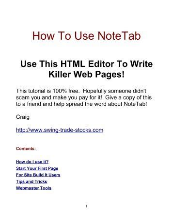 [pdf] The Truth About Fibonacci Secrets - Swing-Trade-Stocks Com.