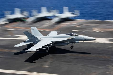 The Us Navys Fight To Fix Its Worn-Out Super Hornet Fleet Is Making Way.