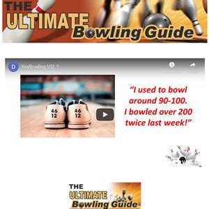 The Ultimate Bowling Guide - Arthritis Research.