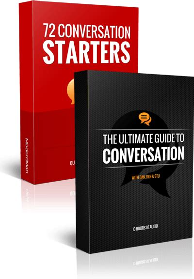 The Ultimate Guide To Conversation - The Modern Man.