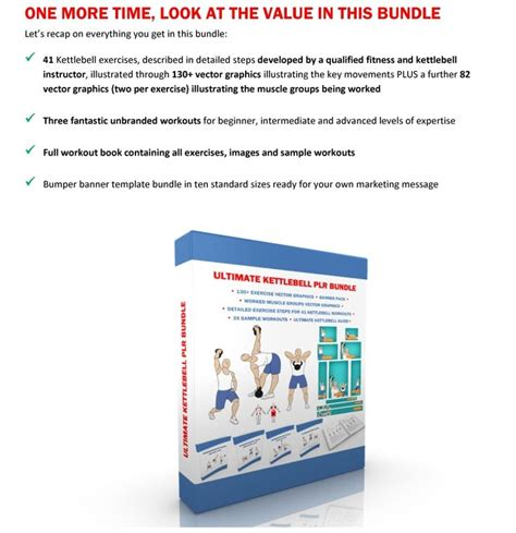 [click]the Ultimate Kettlebell Plr Bundle - Healthbooks Biz.