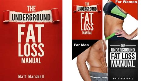 The Underground Fat Loss Manual Review - Does It Work Or Scam.