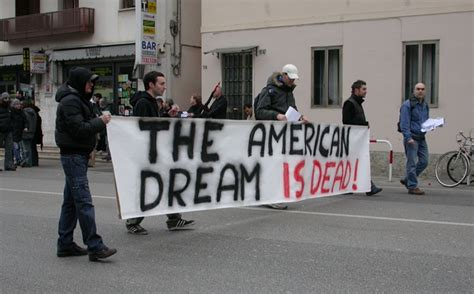 The American Dream Is Dead