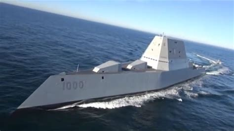 The Largest U S. Navy Destroyer Zumwalt