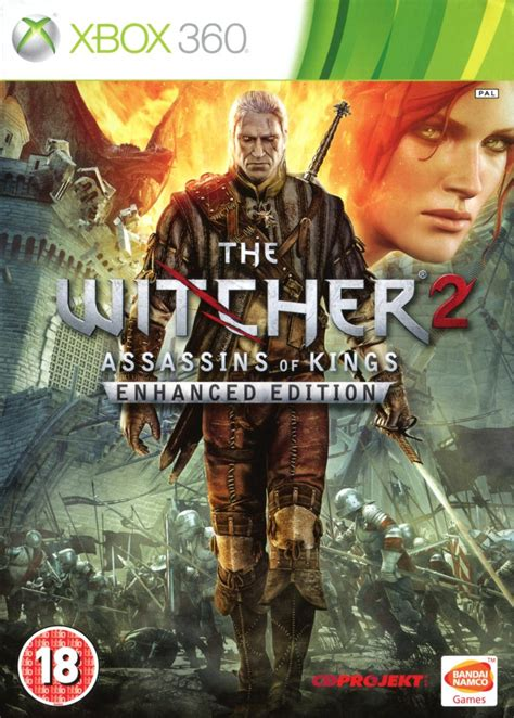The Witcher 2 Assassin of Kings Xbox 360 Box