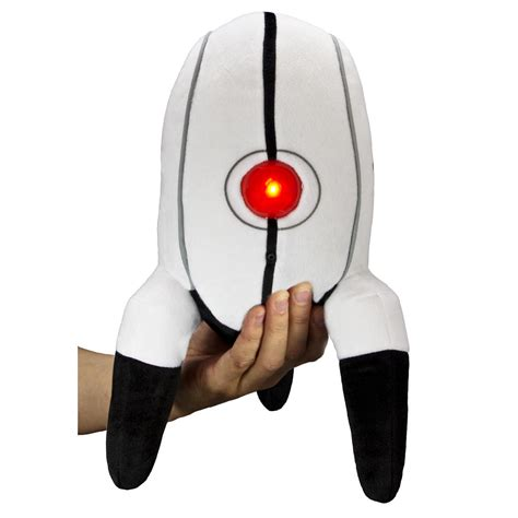 [click]thinkgeek Product Review Plush Portal Turret.
