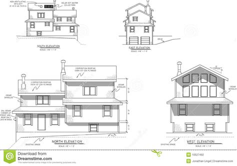 [pdf] Three-View Plan View And Elevation View Drawings.