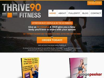 [click]thrive90 Fitness Program Coupons Get Thrive90 Fitness .