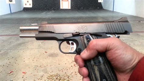 Tight Shoots Of My Kimber Tactical Custom Hd 2 - Youtube.