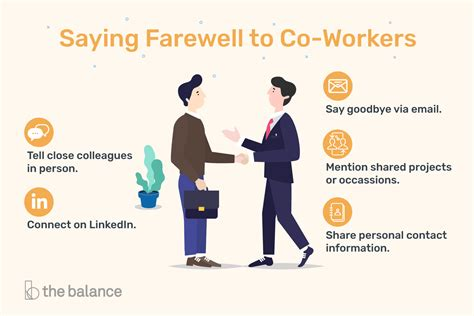 @ Tips For Saying Goodbye When You Re Leaving Your Job.