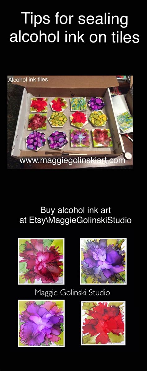 Tips On Sealing Alcohol Ink Tiles Alcoholinkart  .