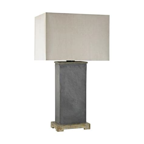 Titan Lighting 28 In Elliot Bay Grey Slate Outdoor Table .