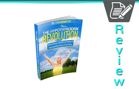 @ Tom Brimeyer S Hypothyroidism Revolution Review  Worth It .
