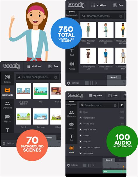 Toonly - Easily Create Animated Explainer Videos In Minutes!.