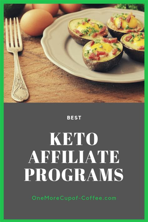 Top 10 Ketogenic Affiliate Programs To Fatten Up Your Keto Site.