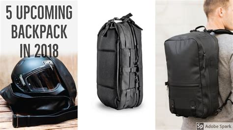 Top 5 Upcoming Travel Backpacks 2018 Travel Backpack Kickstarter.