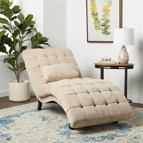 Top Product Reviews For Abbyson Soho Beige Fabric Chaise .