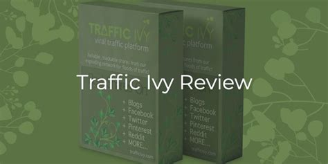 Traffic Ivy Review – Too Many Bugs! - Cybercash Worldwide.