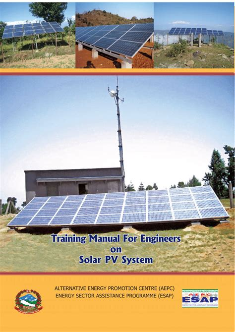 [pdf] Training Manual For Engineers On Solar Pv System.