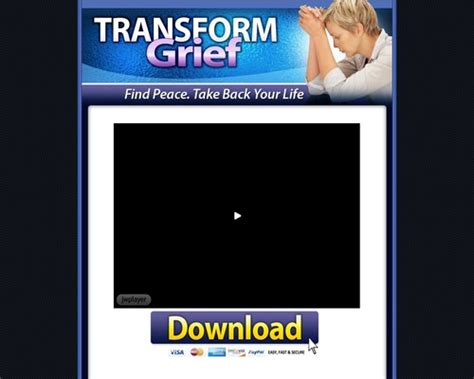 Transform Grief – Coaching And Counseling Through Grief Stages.