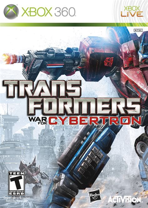 Transformers Games for Xbox 360