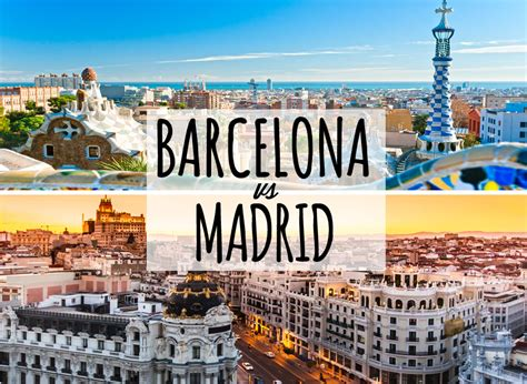 Travel to Spain: Barcelona and Madrid