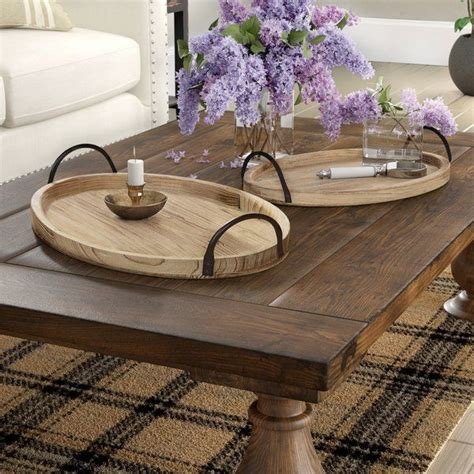 Tray Coffee Table Wood